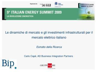 Carlo Capé, AD Business Integration Partners