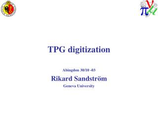 TPG digitization