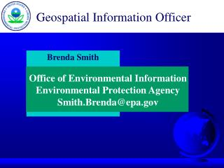 Geospatial Information Officer