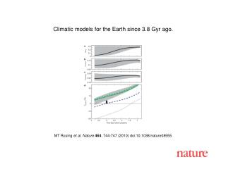 MT Rosing  et al. Nature 464 , 744-747 (2010) doi:10.1038/nature08955