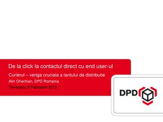 De la click la contactul direct cu end user-ul
