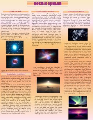 Kozmik Işınların Etkileri