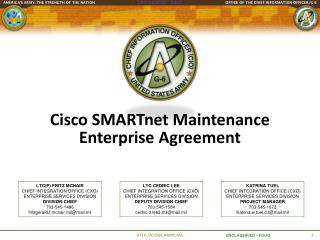Cisco SMARTnet Maintenance Enterprise Agreement