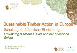 STA Schulungsveranstaltung Hannover, 20.11.2012