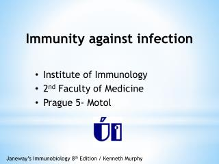 Immunity against infection