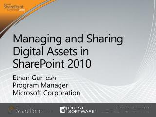 Managing and Sharing Digital Assets in SharePoint 2010