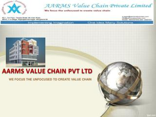 AARMS VALUE CHAIN PVT LTD