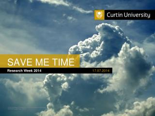 SAVE ME TIME