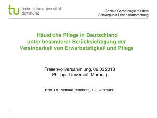 Frauenvollversammlung, 06.03.2013   Philipps-Universität Marburg