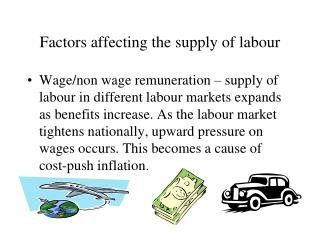 Factors affecting the supply of labour