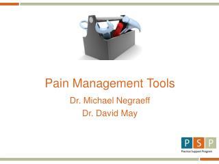 Pain Management Tools