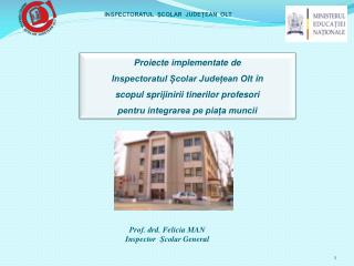 Prof. drd. Felicia MAN