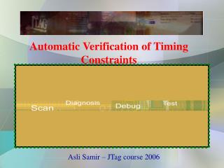 Automatic Verification of Timing Constraints