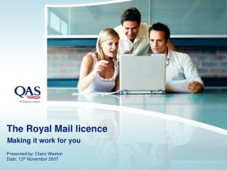 The Royal Mail licence