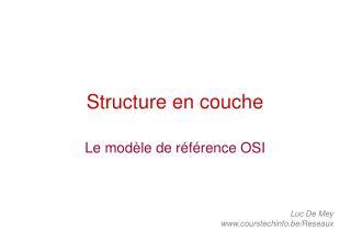Structure en couche