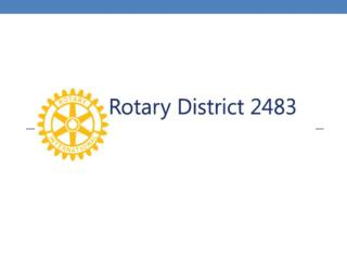 Rotary District 2483