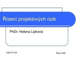 Řízení projektových rizik