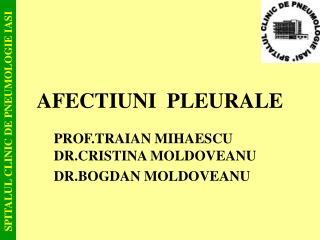 AFECTIUNI  PLEURALE