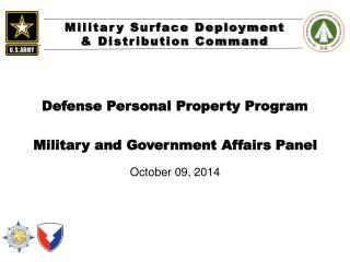 Defense Personal Property Program  Military and Government Affairs Panel
