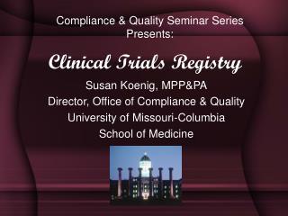 Clinical Trials Registry