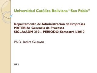 Ph.D.  Indira Guzman