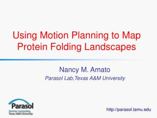 Using Motion Planning to Map Protein Folding Landscapes