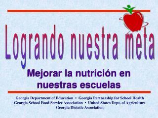 Mejorar la nutrici�n en nuestras escuelas