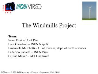 The Windmills Project