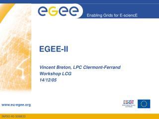EGEE-II