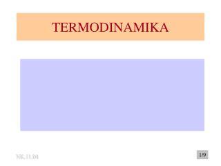 TERMODINAMIKA