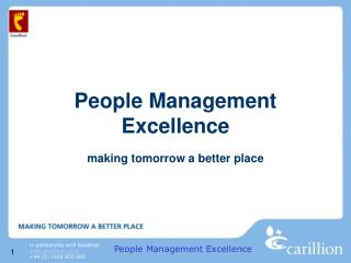 People Management Excellence