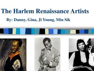 The Harlem Renaissance Artists
