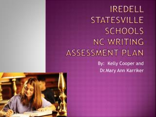 Iredell Statesville Schools NC Writing Assessment Plan