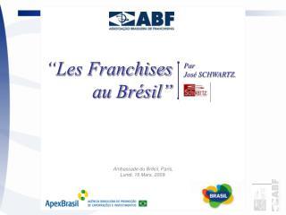 Ambassade du Brésil, Paris, Lundi, 16 Mars, 2009.