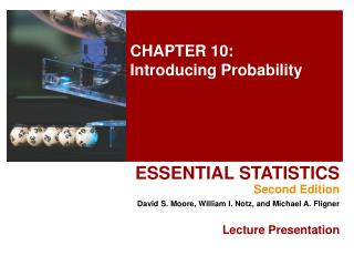 CHAPTER 10: Introducing Probability