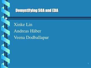 Xinke Lin Andreas Häber Veena Dodballapur
