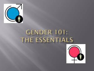 Gender 101:  The essentials