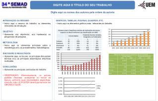 DIGITE AQUI O TÍTULO DO SEU TRABALHO