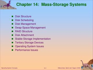 Chapter 14:  Mass-Storage Systems