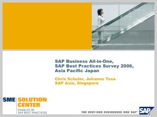 SAP Business All-in-One, SAP Best Practices Survey 2006, Asia Pacific Japan