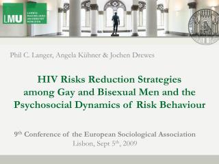 New Data on HIV MSM Prevention