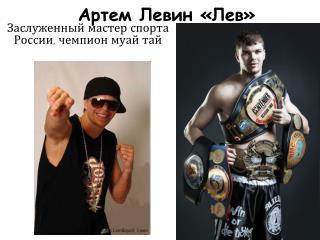 Артем Левин «Лев»