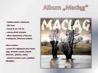 "Album ""Maciąg"""