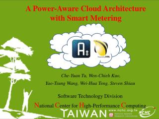 A Power-Aware Cloud Architecture with Smart Metering