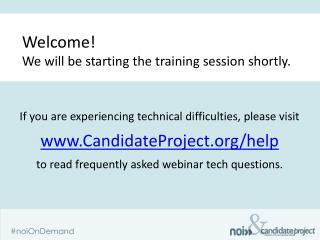 Best practices in Volunteer recruitment and training