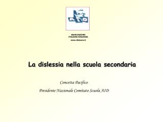 ASSOCIAZIONE ITALIANA DISLESSIA dislessia.it