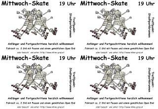 Mittwoch-Skate