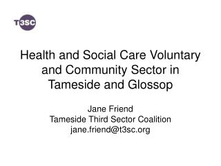 Health and Social Care Voluntary and Community Sector in Tameside and Glossop