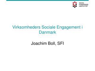 Virksomheders Sociale Engagement i Danmark