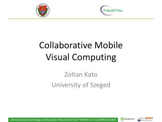 Collaborative Mobile Visual Computing